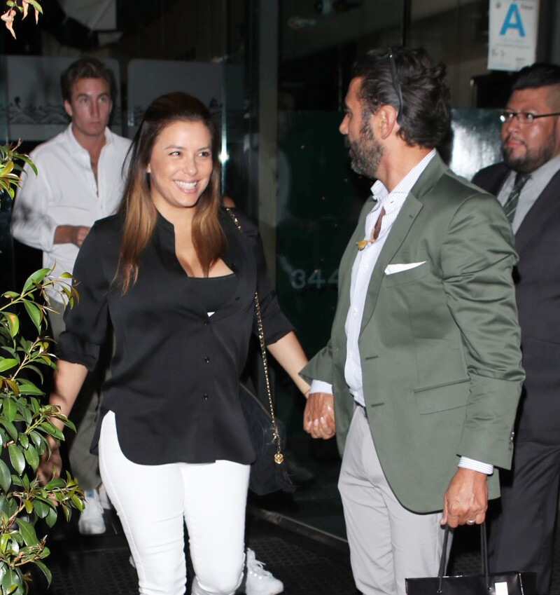 Eva Longoria se va de date con Pepe Bastón