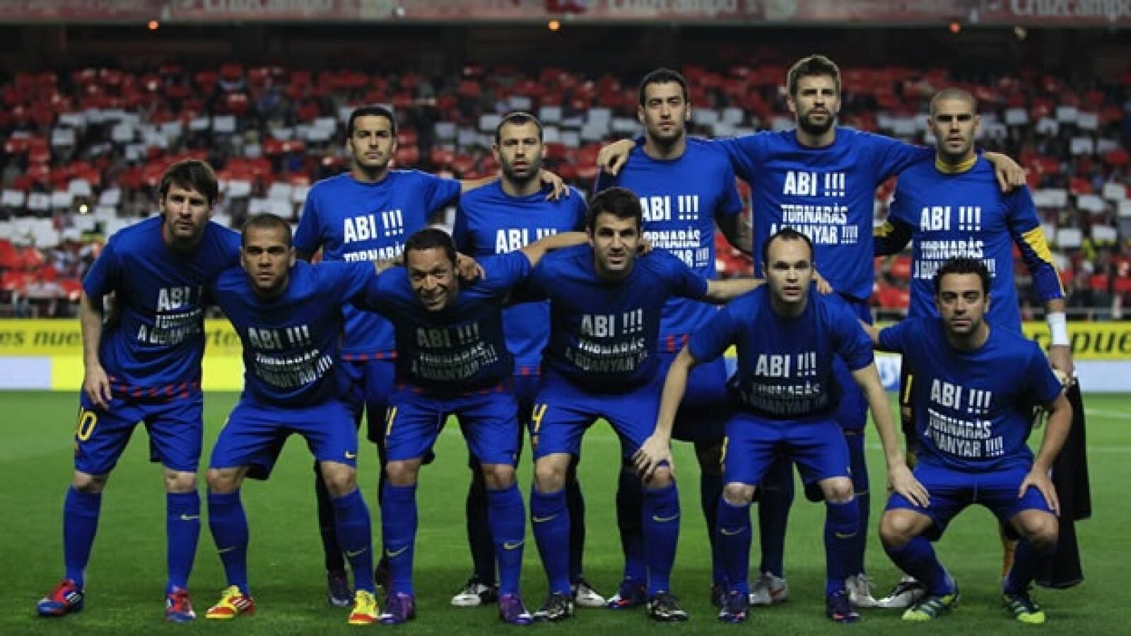 El Barcelona apoya a Eric Abidal