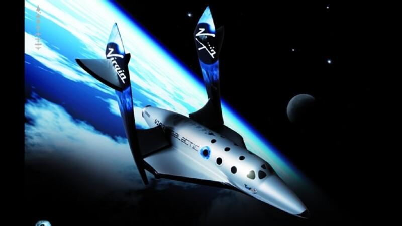 Virgin Galactic nave espacio turismo