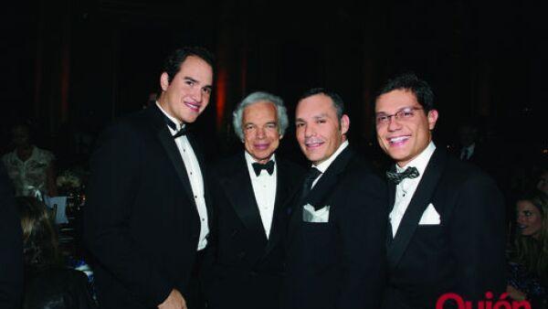 Diego Panama, Ralph Lauren, Daniel Espinosa, Pablo Jenkins