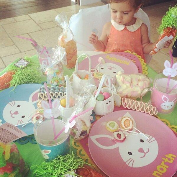 La madre de Kourtney, Kim y Khloé, les decoró a sus nietos un cuarto llenos de conejos, ¡divino!