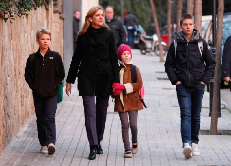 Por ahora, los niños se mantienen alejados del escándalo en Ginebra. Aquí en una foto de archivo en Barcelona.