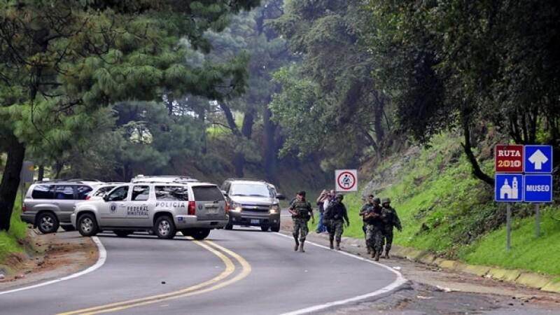 Reconstrucción ataque Morelos