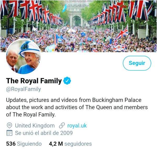 Twitter The Royal Family