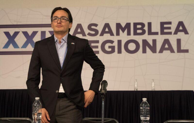 Andrés Atayde, dirigente del PAN Ciudad de México,