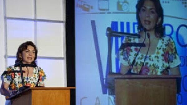 La gobernadora de Yucatán, Ivonne Ortega, fue reconocida por el Foro Económico Mundial  (Foto: Archivo NTX)