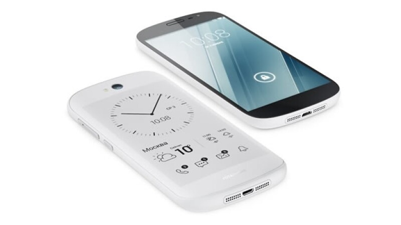 yotaphone 2 telefono ruso doble pantalla