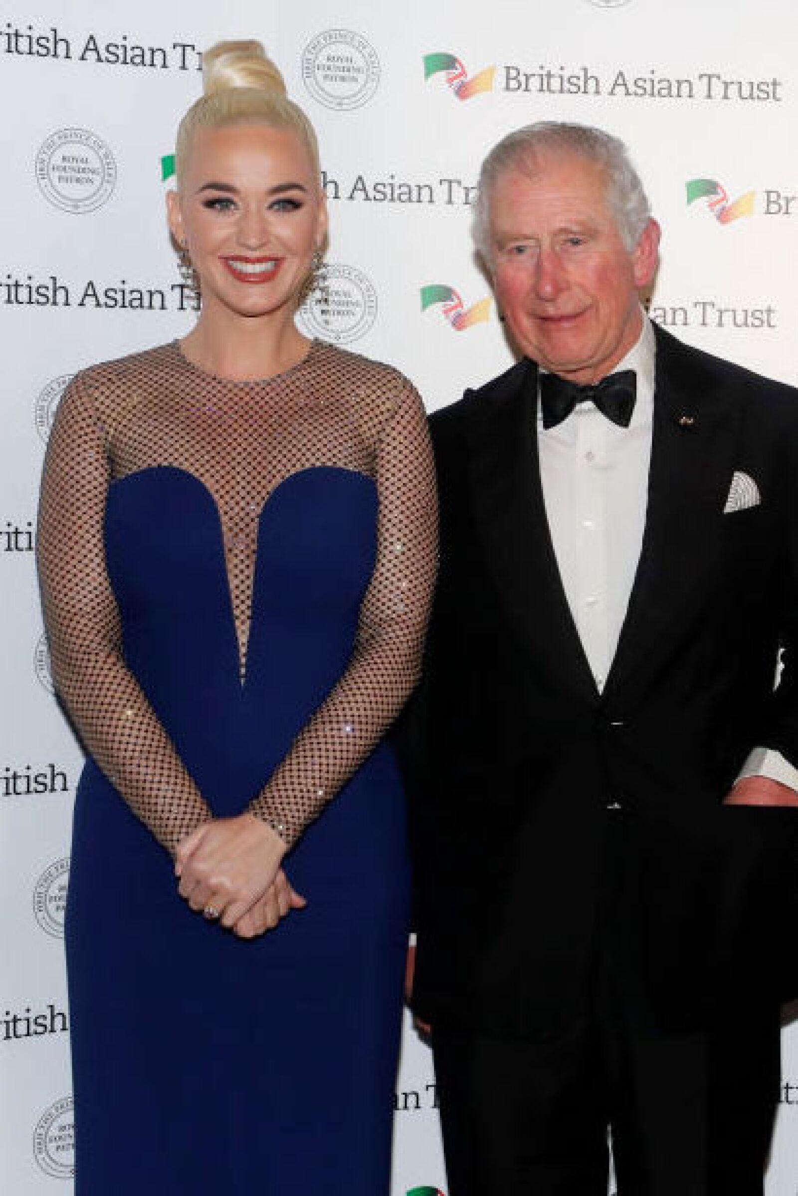 Katy Perry y el príncipe Carlos