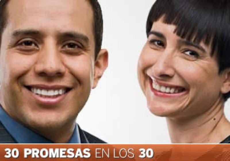Gustavo Carrillo y Carla Fernández buscan posicionar a México en el extranjero. (Foto: Especial)