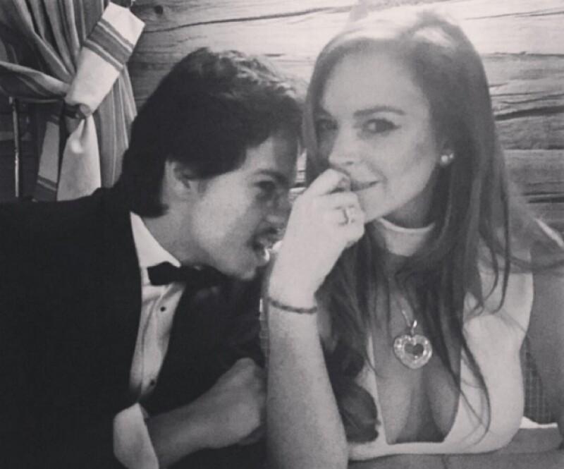 Lindsay no se comprometió con su novio Egor.