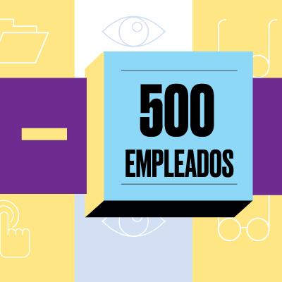 Empresas con menos de 500 empleados