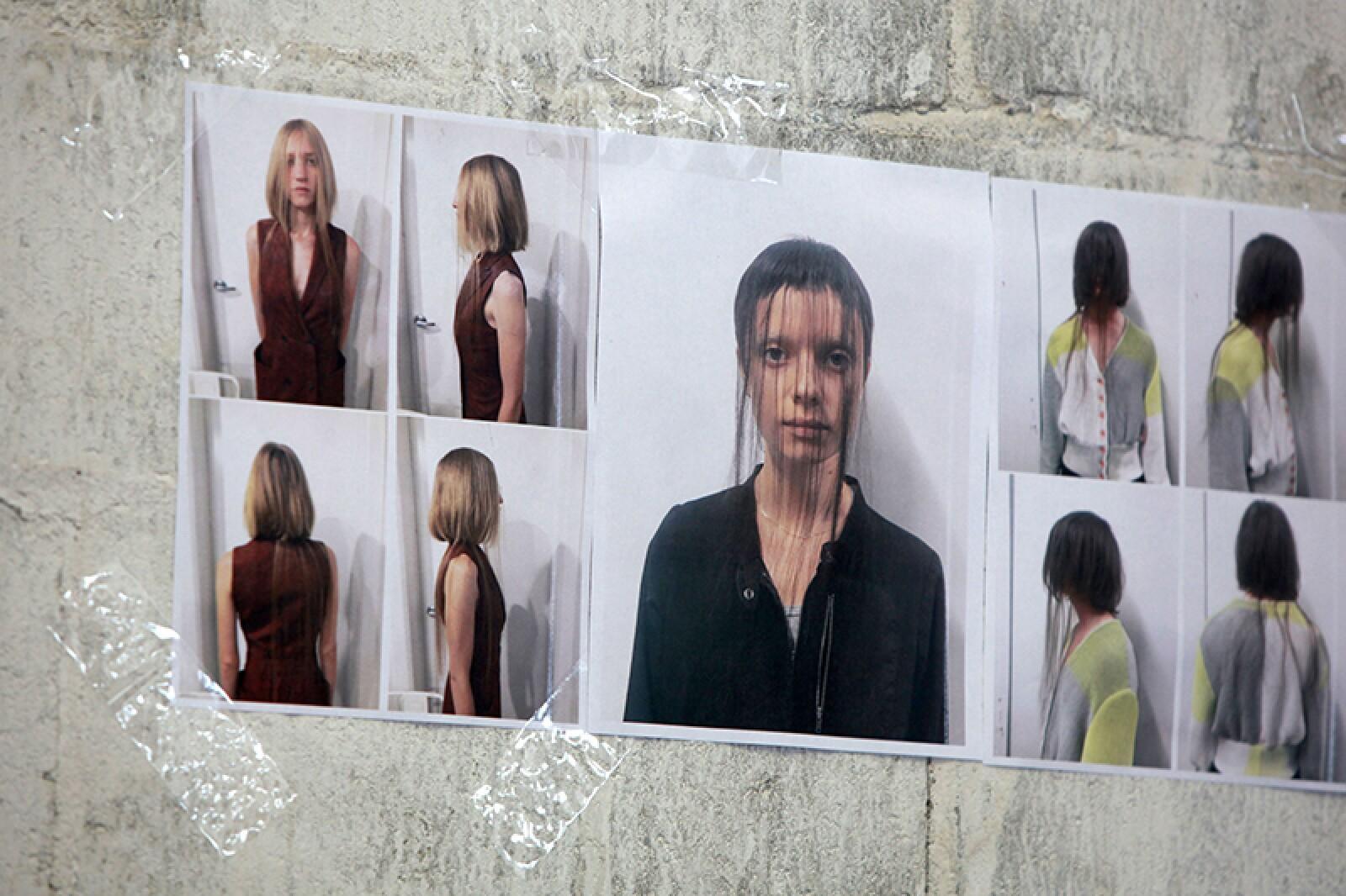 Eckhaus Latta show, Backstage, Spring Summer 2019, New York Fashion Week, USA - 08 Sep 2018