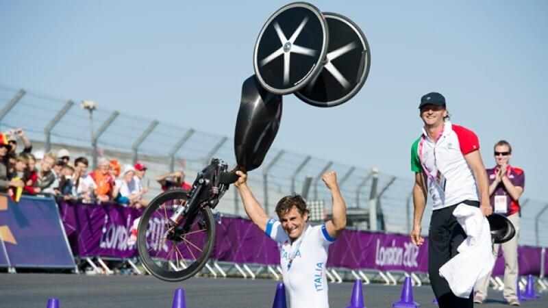 alex zanardi paralimpicos londres ciclismo