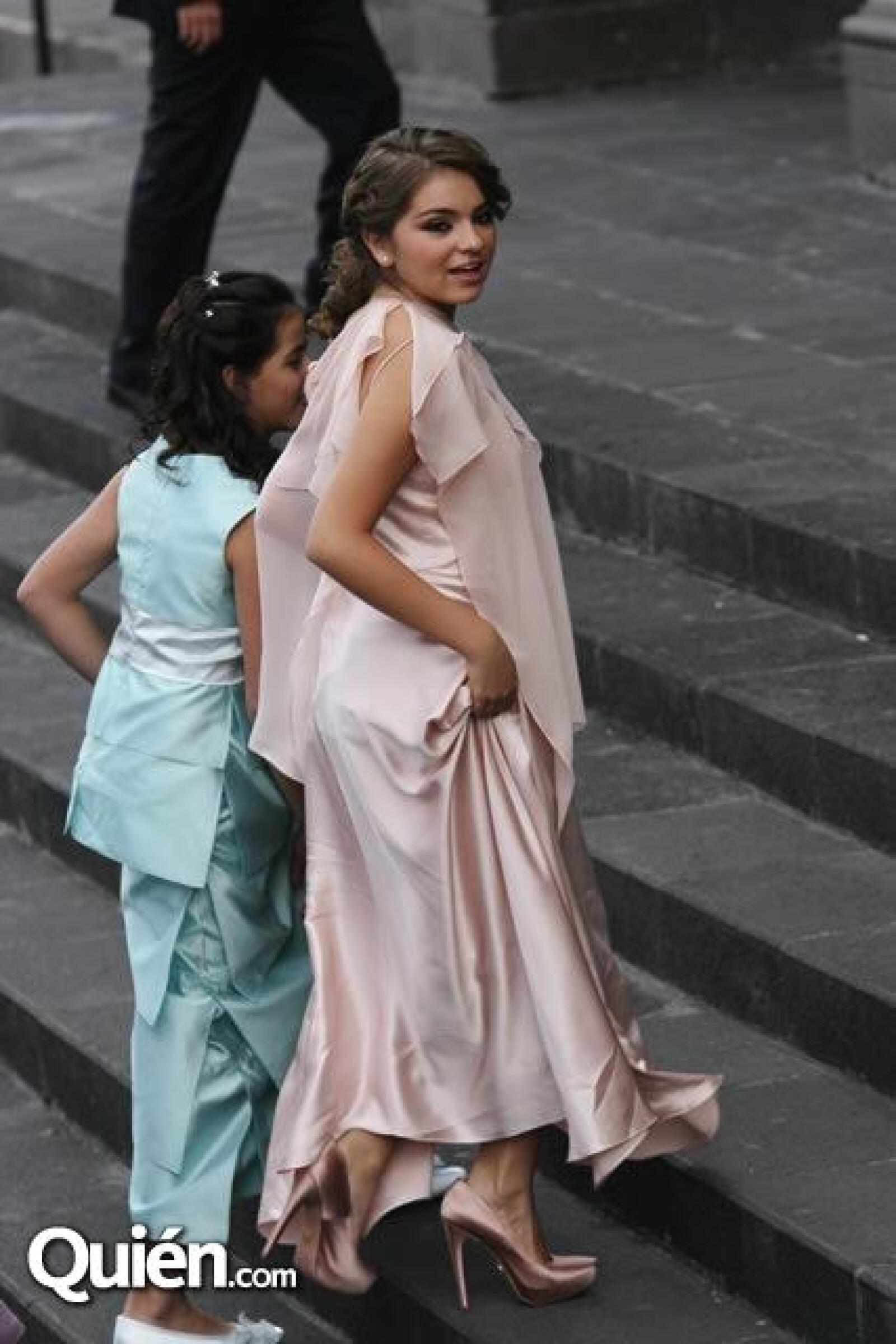 Nicole Peña Pretelini y Sofía Castro Rivera