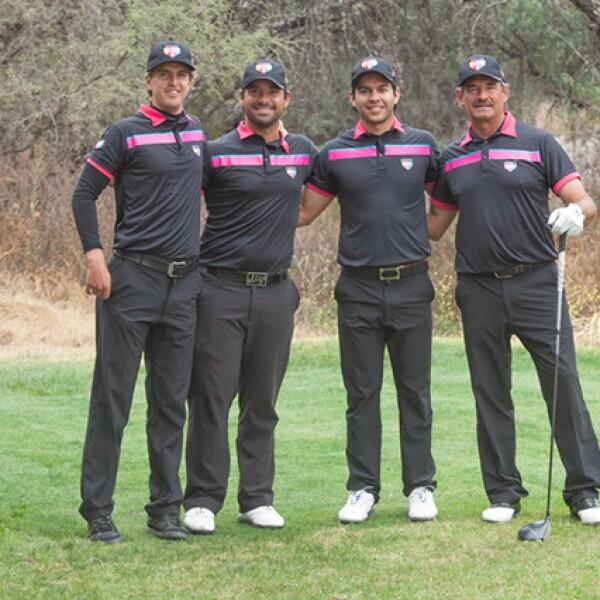 Nicolás Guerguer,Rafael Campo,José Toledo y Carlos Franco