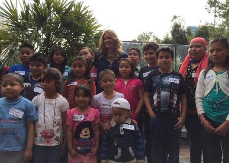 La Fundación Rebecca de Alba ofreció una posada a pacientes enfermos de cáncer y a sus familiares, como última actividad del año de la fundación.