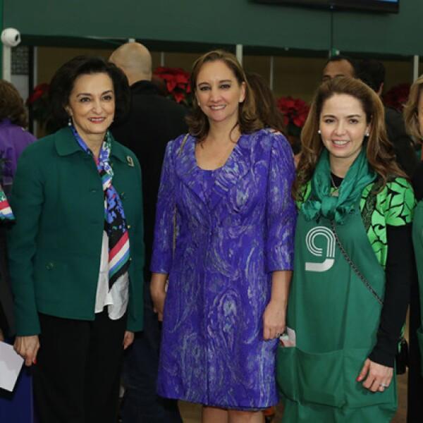 Ale Quintana,Dulce María Martínez Gama,Claudia Ruiz Massieu,Rosita Aguirre y Chayo de Sandoval