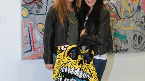 Paola Albarrán y Becky Edid