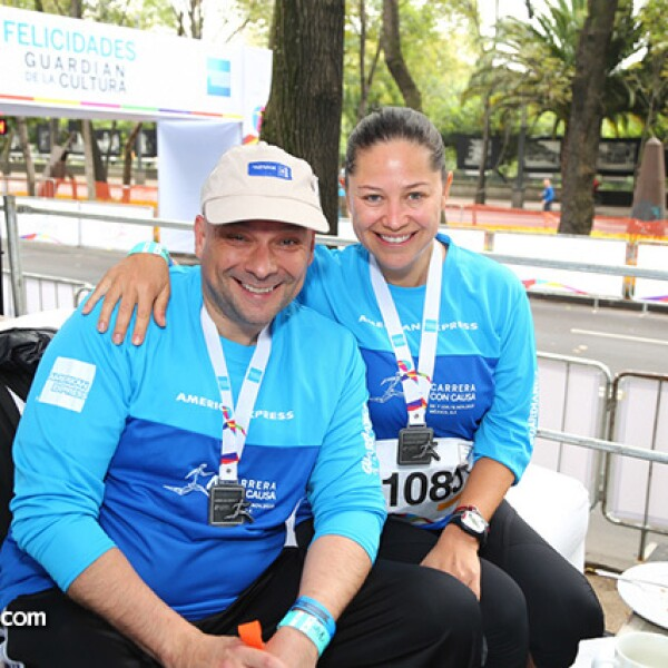 Luis Moreno Treviño y Mara Yáñez
