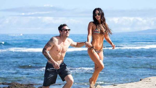 Megan Fox y Brian Austin en Hawaii 2018