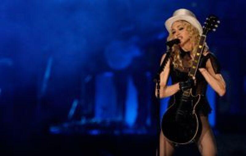 Madonna se presentará esta noche en Florida.