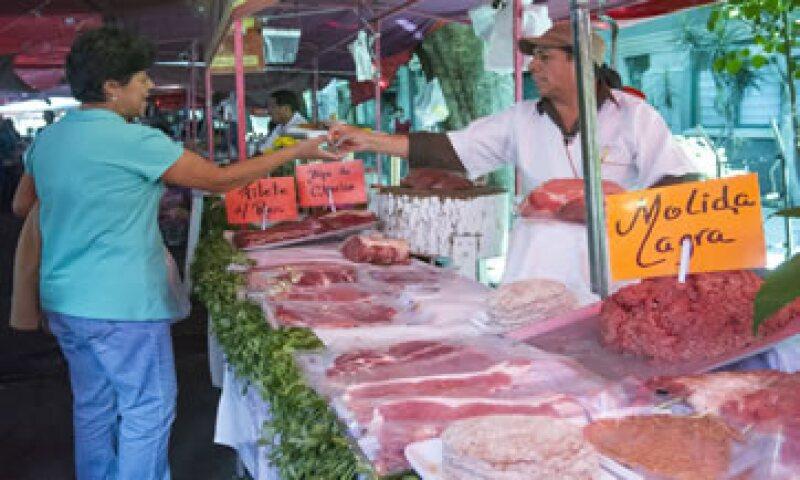 La carne de cerdo ha tenido un aumento de 16.66% en lo que va del año. (Foto: Cuartoscuro)