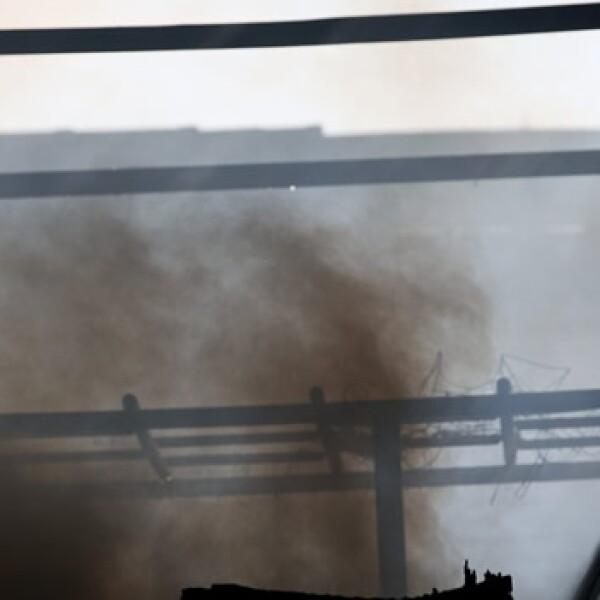incendio en un taller de una escuela de samba