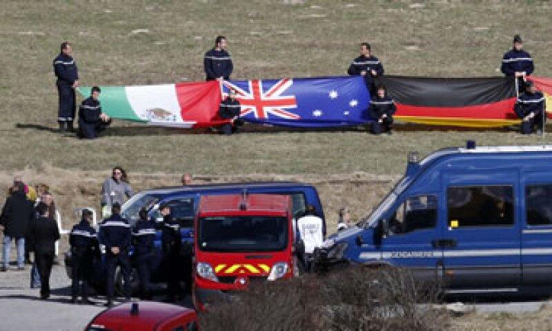 El avión que se estrelló enlos Alpes estaba asegurado en 6.5 millones de dólares. (Foto: Especial)