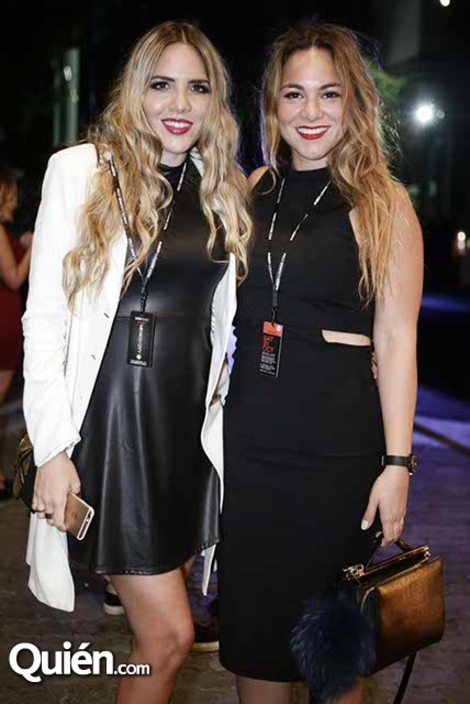 Rosana Vales y Rocío Castillo