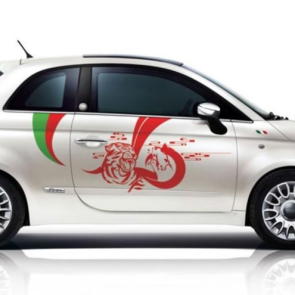 La marca italiana presentó en el Auto Show de Shanghai una serie limitada del Fiat 500 First Edition, modificada por 5 artistas chinos.