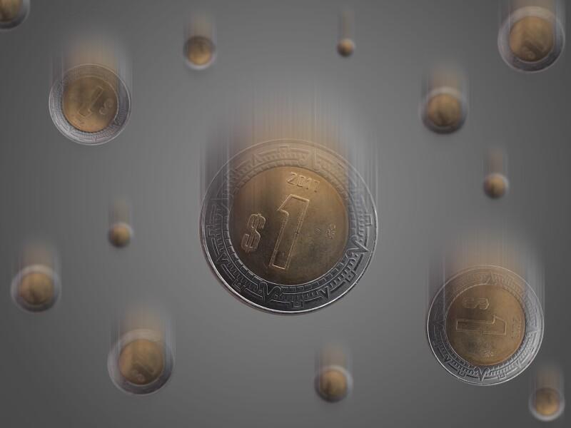 pesos monedas