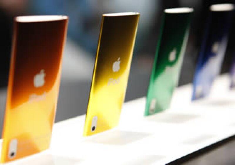 Los iPod nano ahora cuentan con cámara de video. (Foto: AP)