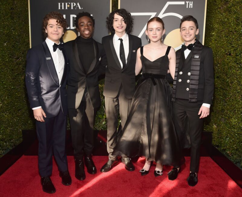 Stranger Things en Golden Globes 2018