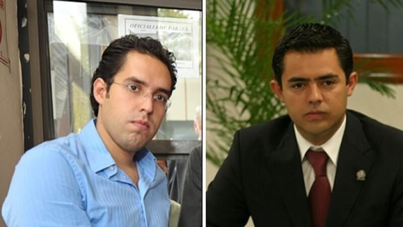 Rafael Miguel Medina Pederzini (izquierda) y Sergio Israel Eguren Cornejo, exfuncionarios panistas que podrán volver a México tras detención en Brasil