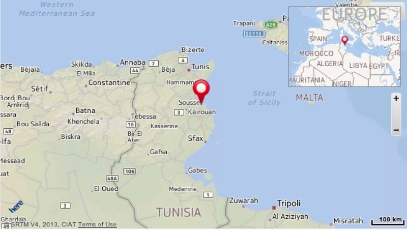 mapa_Túnez
