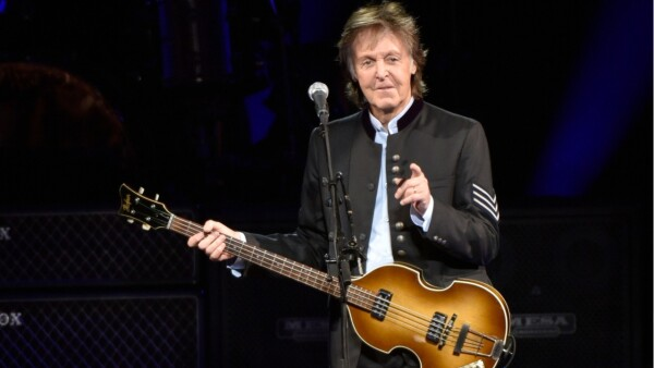 ex beatle Paul McCartney