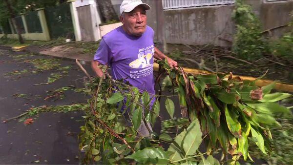 Huracán Irma dejó sin electricidad a más de un millón de personas en Puerto Rico
