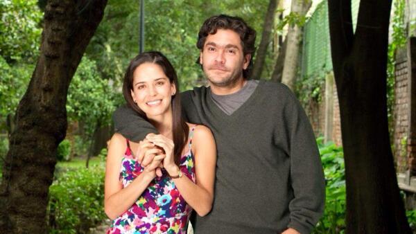 Ana Claudia Talancón y Martín Altomaro.
