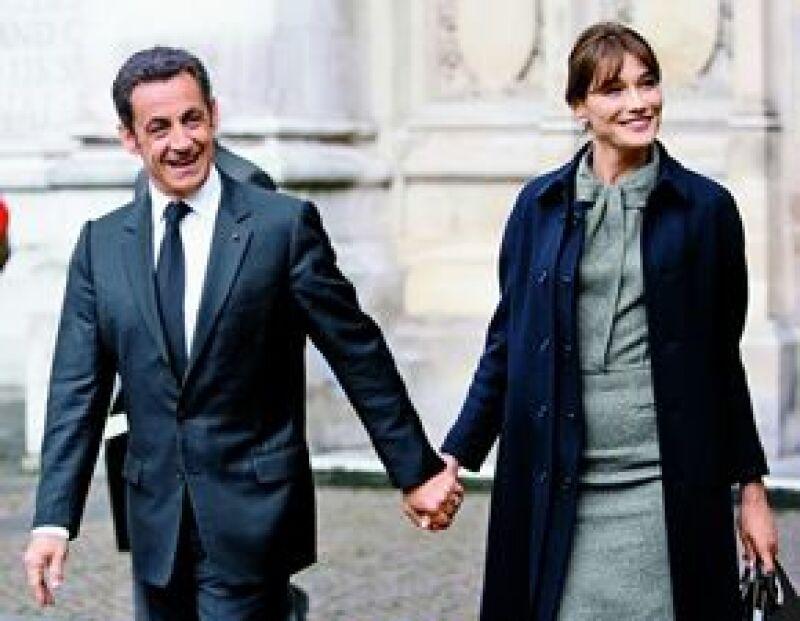 El 2 de febrero del año pasado. Carla se casó con el presidente Nicolás Sarkozy en una recepción privada y se convirtió en la primera dama francesa.