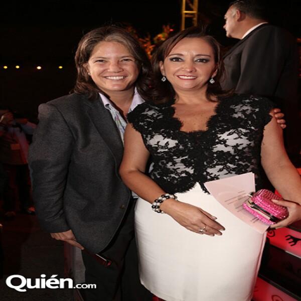 Michelle Fastlicht,Claudia Ruiz Massieu