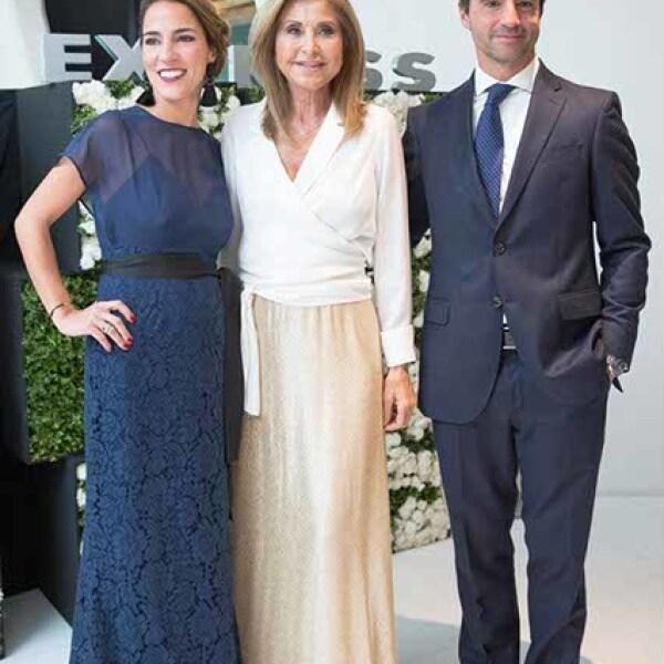 Carla Mauri,Purificación García y Santiago Fernández Vidal