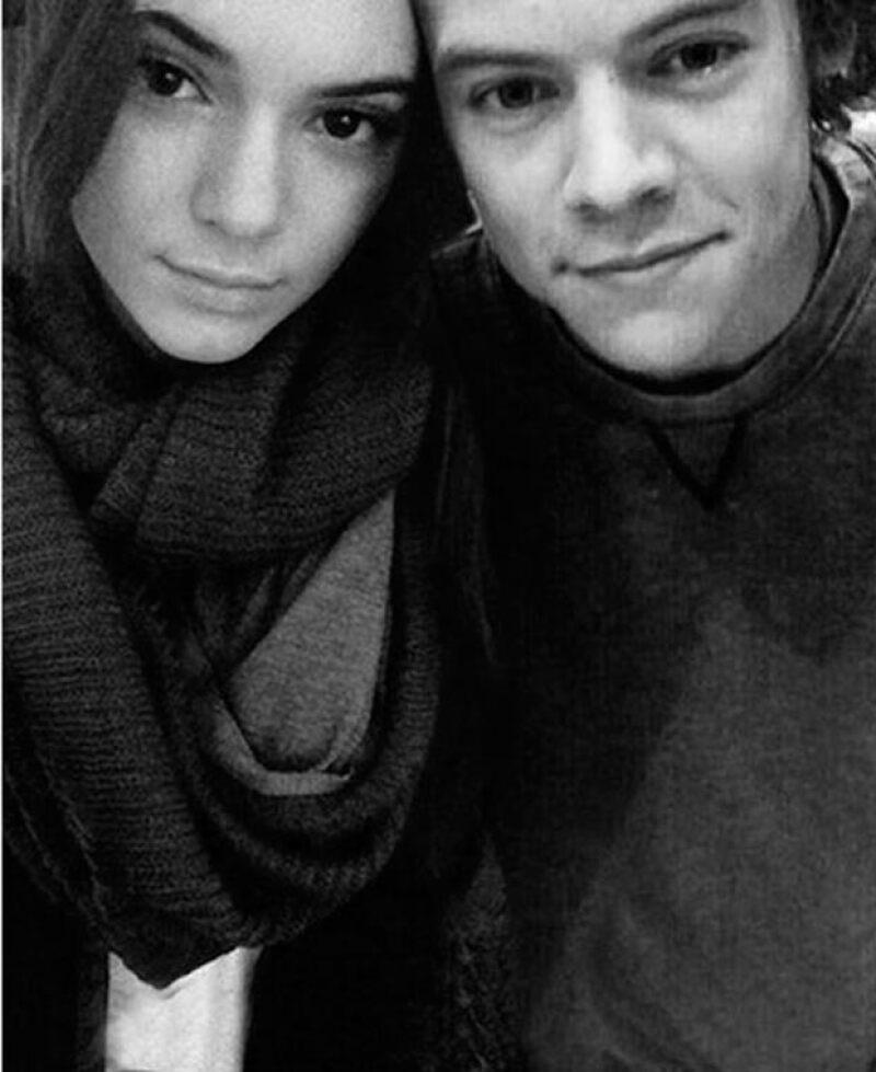 La pareja tuvo un breve romance a finales de 2013 e inicios de 2014.