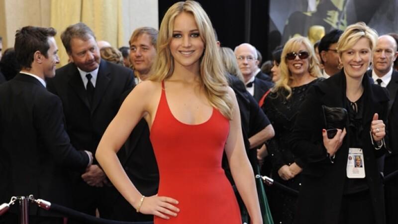 La ganadora del Óscar Jennifer Lawrence sufrió el robo de fotos íntimas en las que se muestra sin ropa