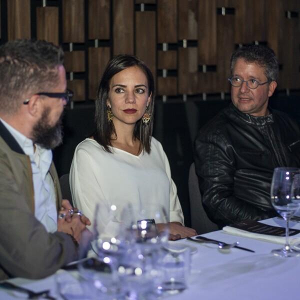 Juan Carlos Baumgartner, Nyra Troyce, Jorge Arditti.jpg