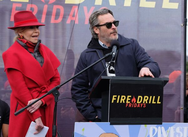 Jane Fonda y Joaquin Phoenix