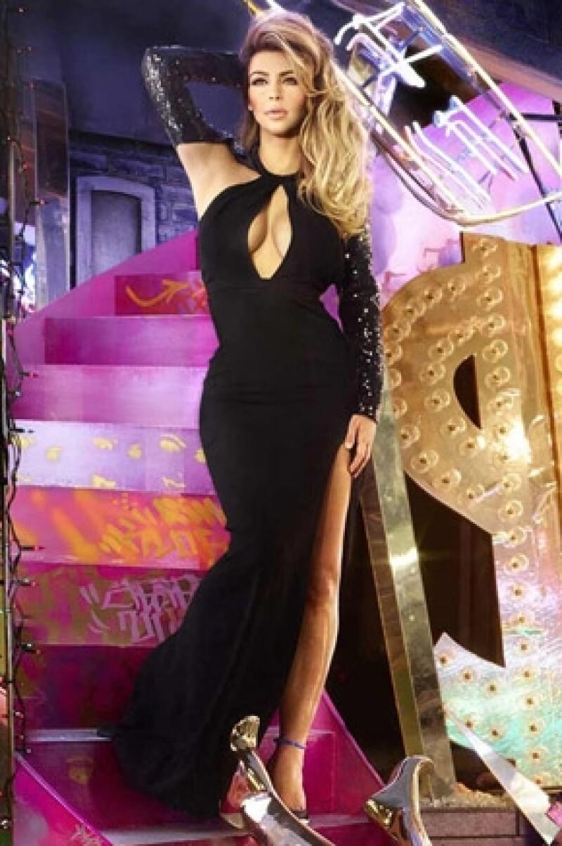 El vestido de Kim fue uno de los más costosos para la sesión.