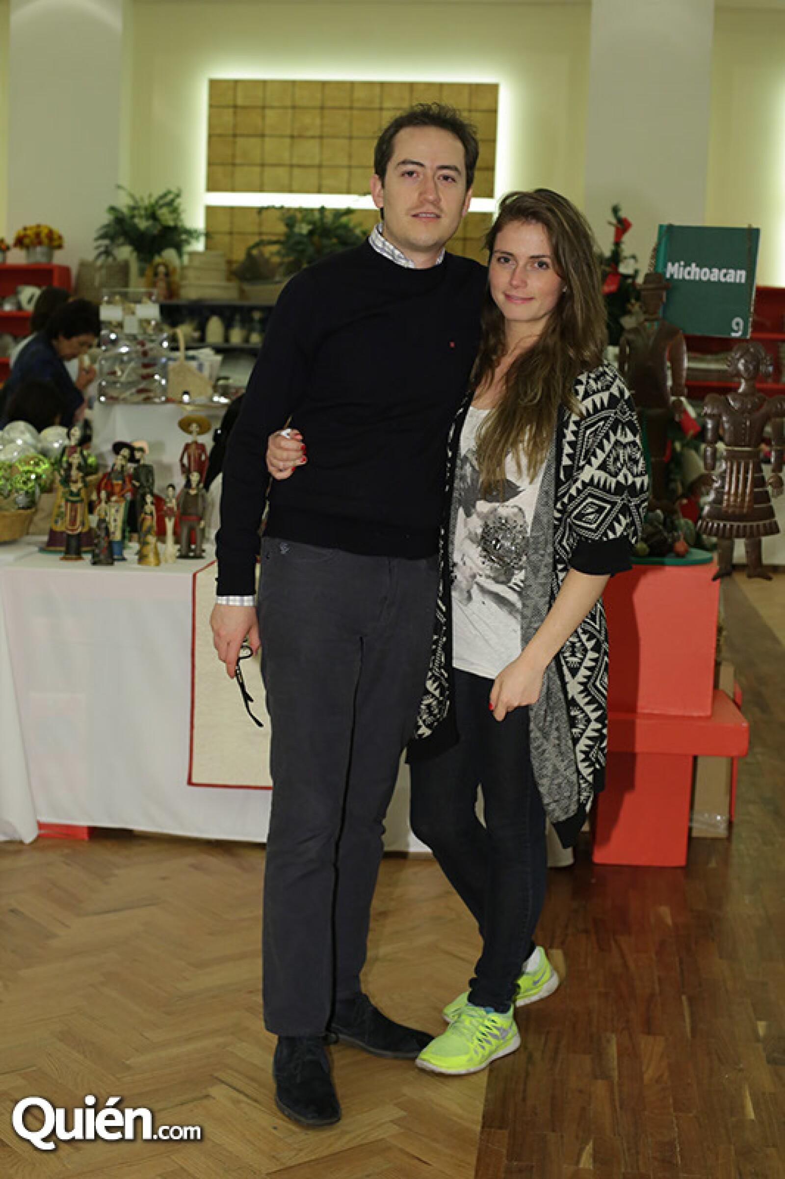 Alejandro García y Deborah Ortega