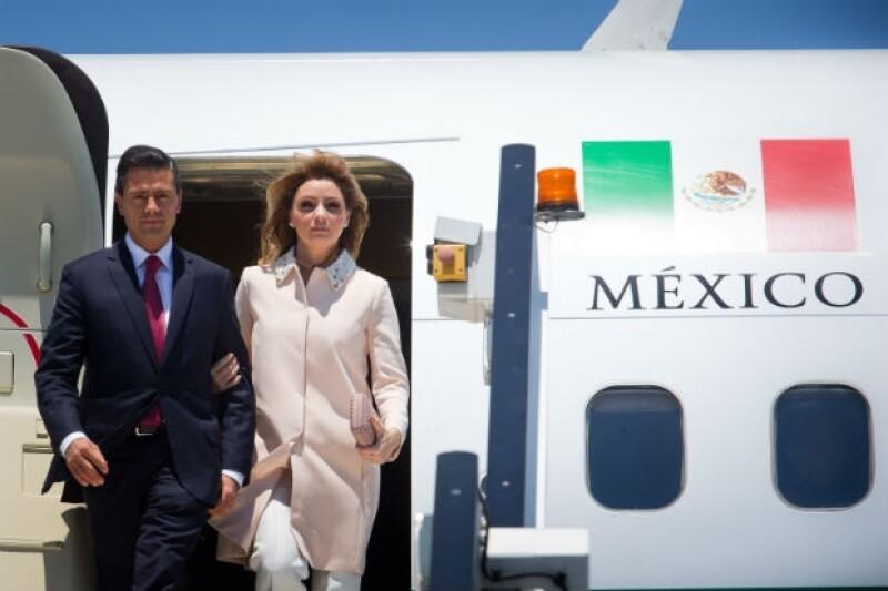 Angélica Rivera acompañó a Peña Nieto en sus recientes viajes a China y Australia.