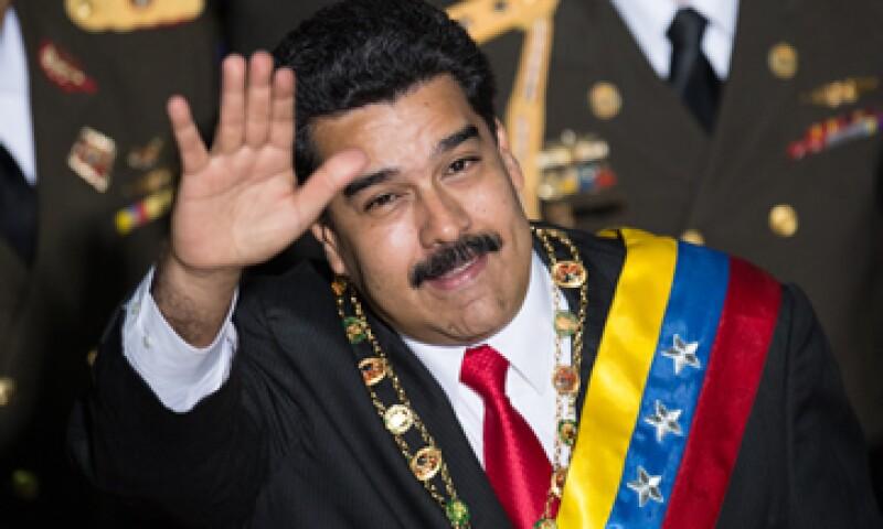 Maduro rindió este miércoles su informe ante el Legislativo. (Foto: AFP )