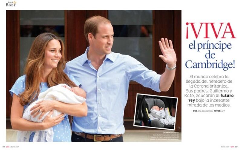 La revista Quién publica esta semana un número especial dedicado al nuevo príncipe, nieto de la reina Isabel II de Inglaterra. Su carta astral, los detalles de su nacimiento y más.